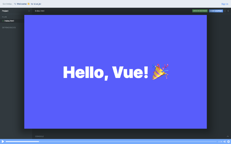 How to make a ? color picker with Vue!