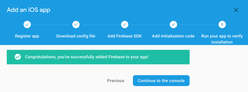 How to integrate your iOS Flutter App with Firebase on MacOS