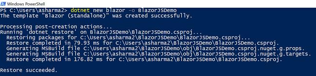How to implement JavaScript Interop in Blazor