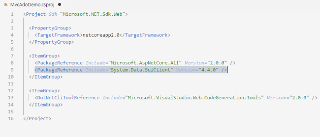 How to perform CRUD Operations With ASP NET Core using VS