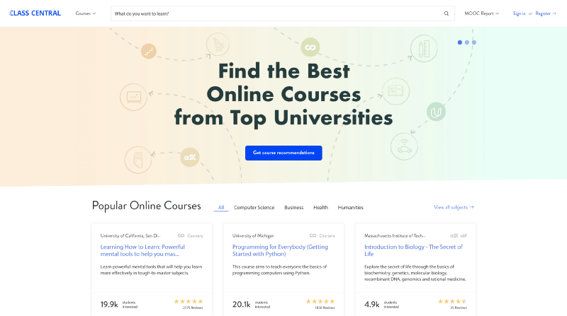 620+ Free Online Programming & Computer Science Courses You