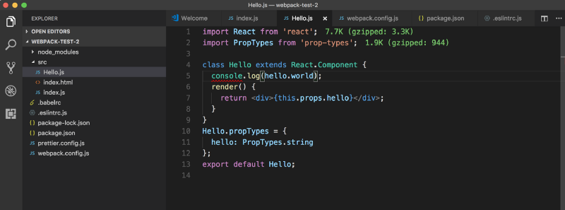 How to streamline your React js development process using Webpack 4
