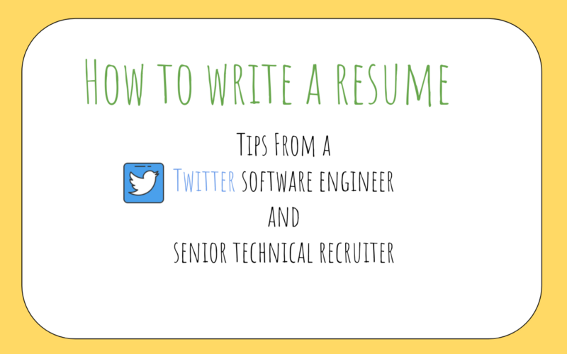 How To Write A Great Resume For Software Engineers