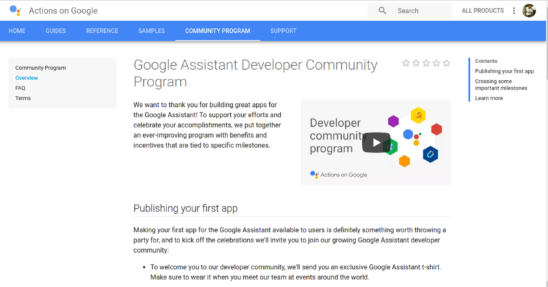 How to build apps for Google Assistant with no programming