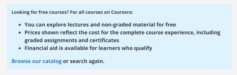 I uncovered 1,150+ Coursera courses that are still completely free